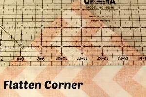 flatten corner