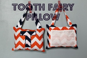 tooth faily pillow first