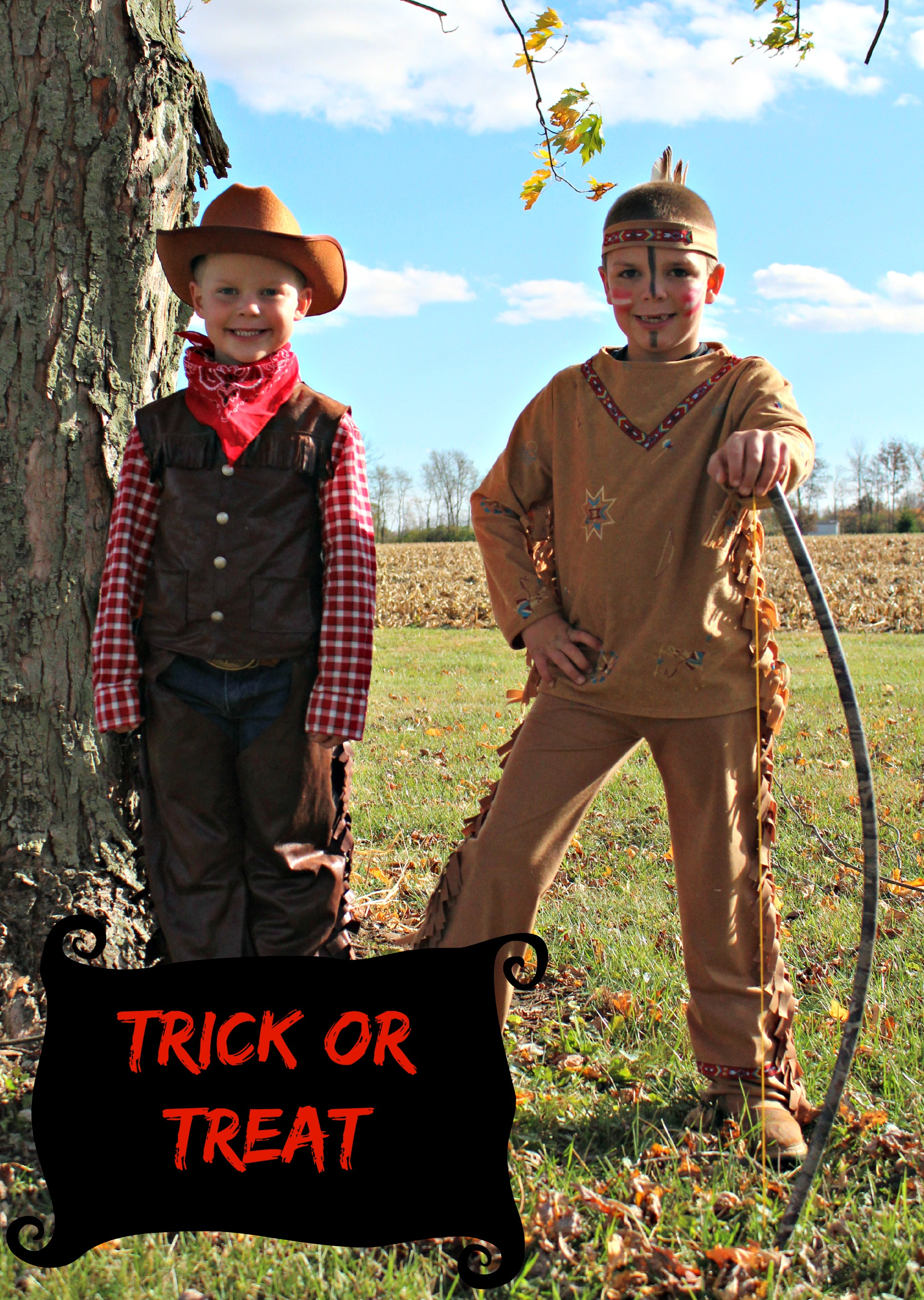 DIY Indian and Cowboy Kids Costume  sc 1 st  Sew On The Edge & Cowboys and Indians | Sew On The Edge
