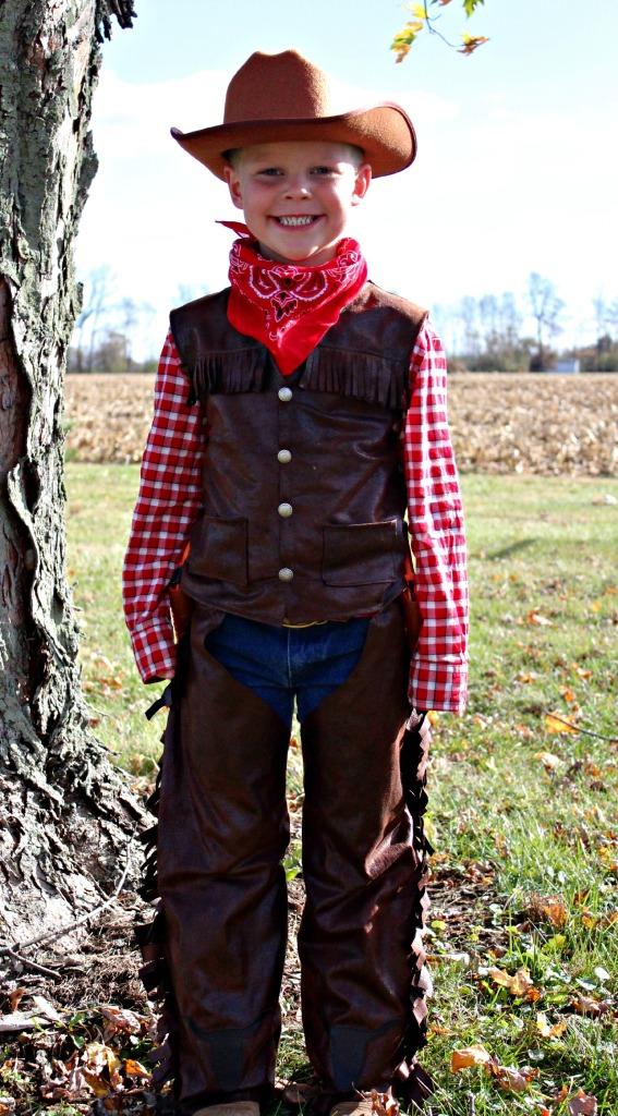 DIY Kids Cowboy Costume